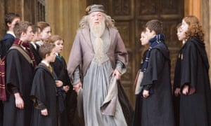 MICHAEL GAMBON As Albus Dumbledore In Harry Potter And The Order Of Phoenix