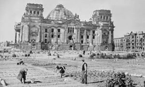 The Reichstag in Berlin, 1946.