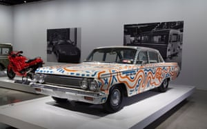Untitled (automobile), 1986 – 1963 Buick SpecialThe cars were part of a radically open approach to art – as well as canvases, he applied his designs to nightclub walls, stage sets, and – now sanctioned – billboards for brands