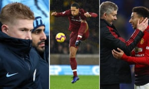Manchester City and Liverpool each have a world-class player in Kevin De Bruyne and Virgil van Dijk, while Ole Gunnar Solskjær looks to have revitalised Manchester United.