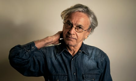 The Brazilian composer Caetano Veloso at his home in Rio de Janeiro, which he has only left once since the coronavirus pandemic reached Brazil in March