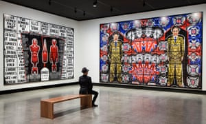 Gilbert & George: The Art Exhibition, at Mona, Tasmania