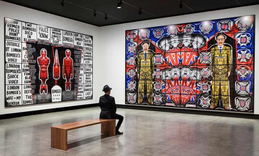 Gilbert & George: The Art Exhibition, at Mona, Tasmania