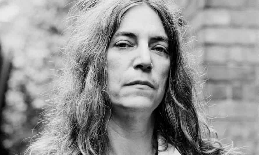 Punk artist Patti Smith