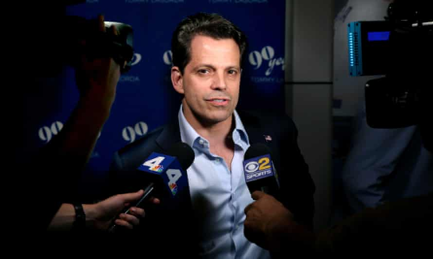 Anthony Scaramucci: 'I'm not a media person. And I'm definitely not a communications director.'