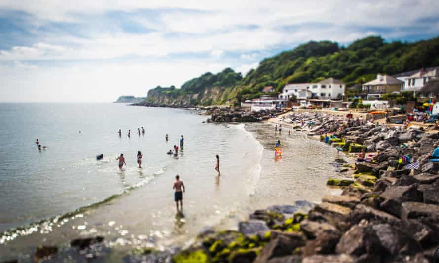 Steephill Cove Beach, Isle of Wight.