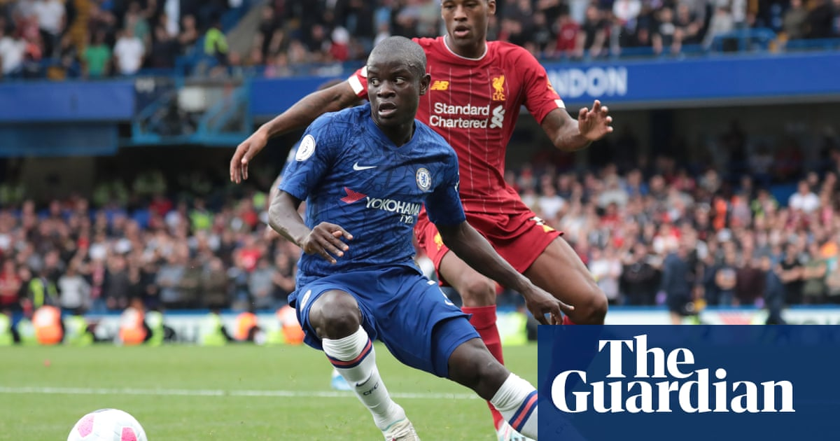 N'Golo Kanté is Chelsea's dynamic all-rounder in a team lacking structure   Jonathan Wilson