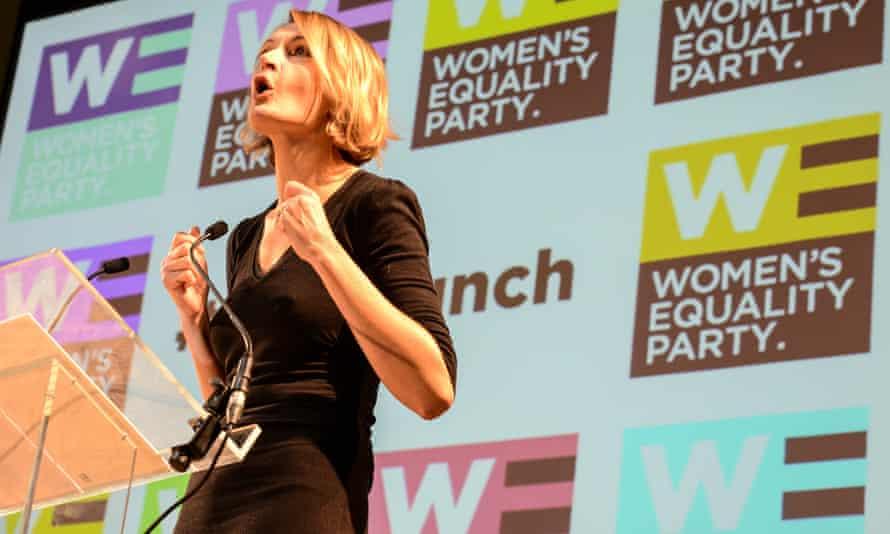 Women's Equality party leader Sophie Walker.