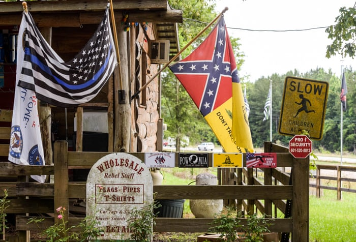Pride and prejudice? The Americans who fly the Confederate