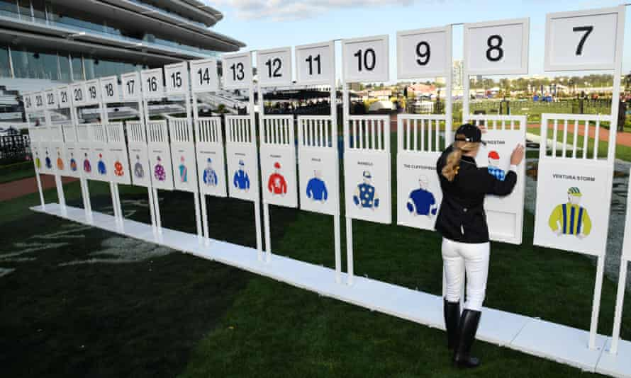 The Melbourne Cup barrier draw