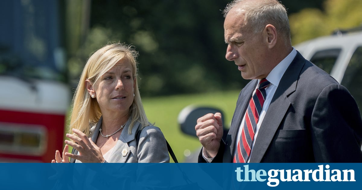Trump to nominate Kirstjen Nielsen as homeland security secretary