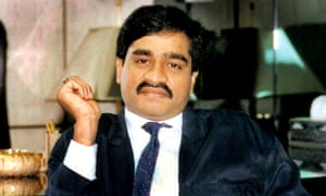 India's most wanted man, Dawood Ibrahim, in an undated picture.