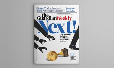 Who will be the world's next superpower? Inside the 25 October Guardian Weekly