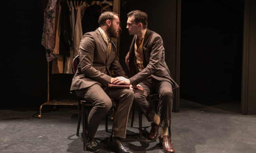 All chemistry is missing … The Twentieth Century Way, starring James Sindall (left) and Fraser Wall.