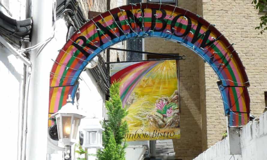 The Rainbow cafe in Cambridge