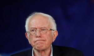 Bernie Sanders: still very much in the race.