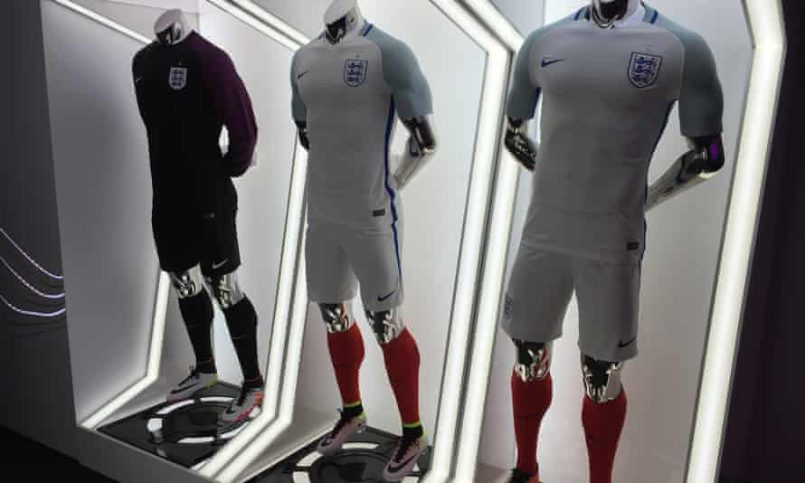 England's new football strip