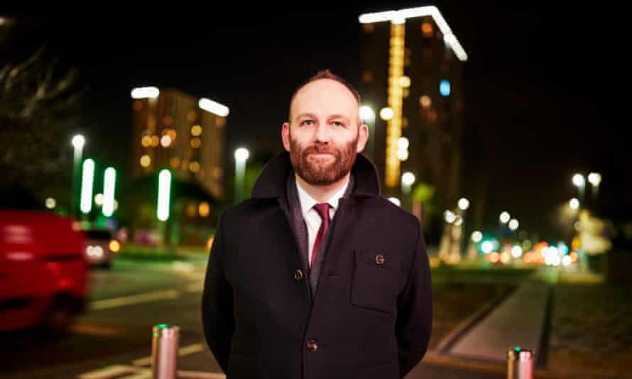 Paul Dennett, mayor of Salford