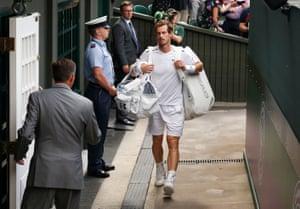 Wimbledon, England Andy Murray