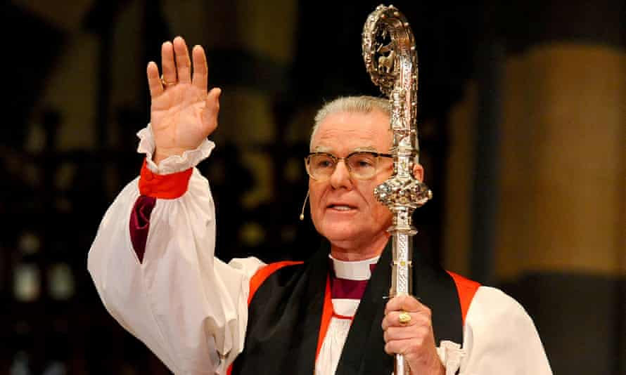 Head of the Anglican church, Melbourne archbishop Philip Freier,