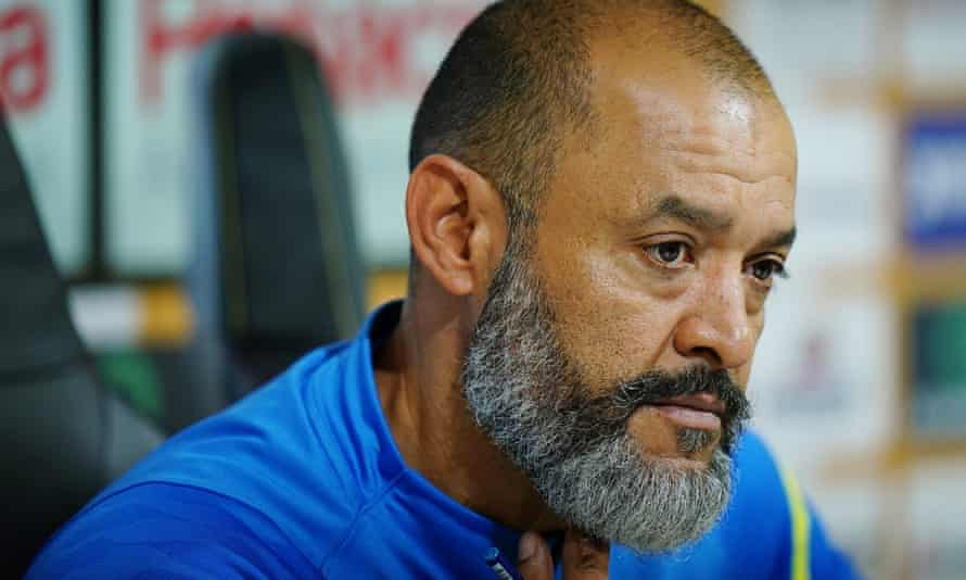 Nuno Espírito Santo was replaced by Bruno Lage at Wolves in the summer.