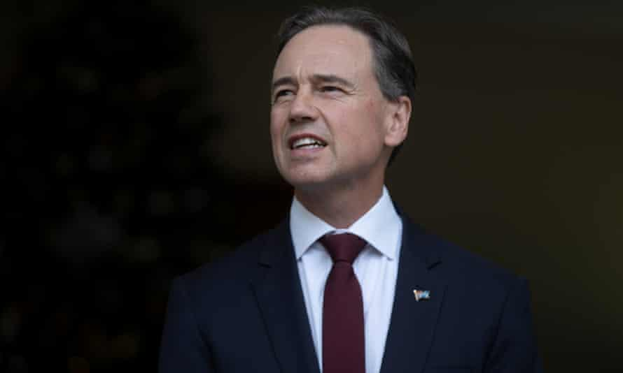 The federal health minister, Greg Hunt