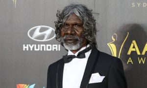 David Gulpilil has received the lifetime achievement award at the 2019 Naidoc awards.