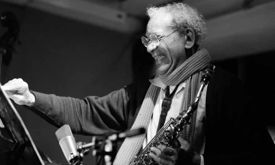 'Reaches a sky-scraping intensity' ... Anthony Braxton performing at Cafe Oto.