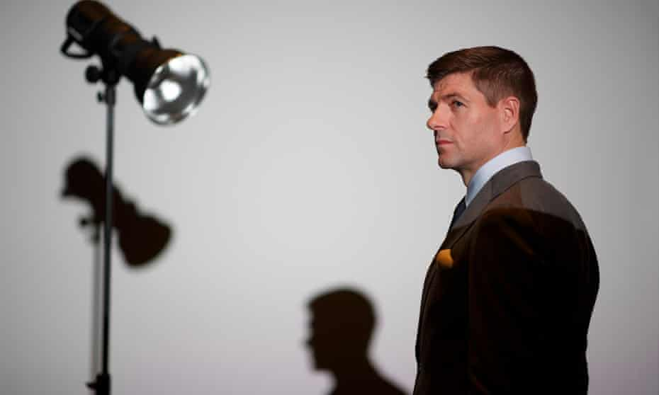 Steven Gerrard, photographed in Soho before a premiere of a documentary about him, likens football to a drug. 'It gets you. Football grips me.'