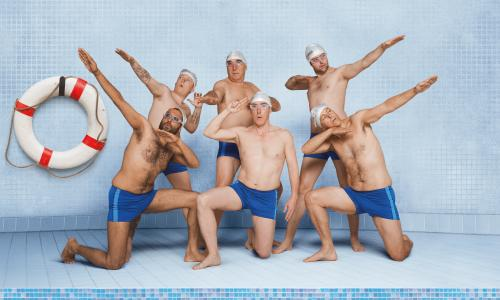 5bb6b88c2a Swimming With Men v Le Grand Bain: cinema's battle for the pool ...