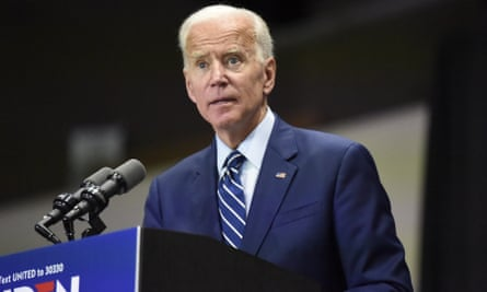 Joe Biden speaks at a campaign event in Sumter, South Carolina, on 6 July.