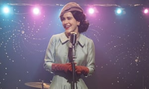 Best actress nomination in a best TV series, musical or comedy, nominee … Rachel Brosnahan in The Marvelous Mrs Maisel.