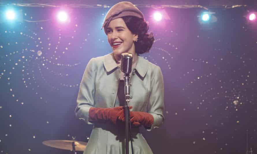 Rachel Brosnahan stars in The Marvelous Mrs Maisel.