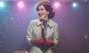 Rachel Brosnahan in The Marvelous Mrs Maisel.