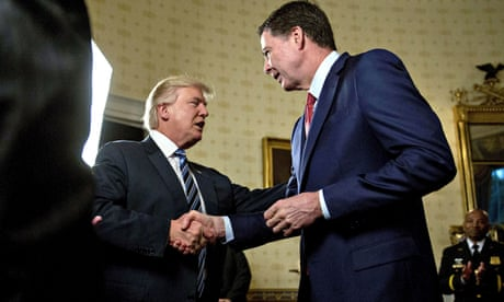 'Slime ball': Trump attacks Comey after new book likens president to mafia boss