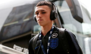 Phil Foden starts for England Under-21s in Hull.