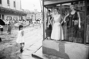 Meongdong, Seoul, Korea, 1958.