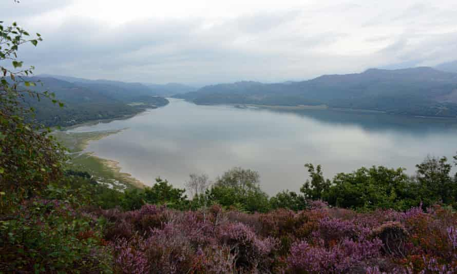 The estuary of the Afon Mawddach