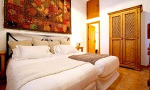 A bedroom at Tekne