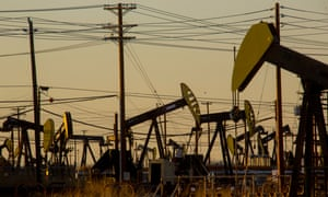 Belridge, California, one of the oldest and largest oilfields in the US.