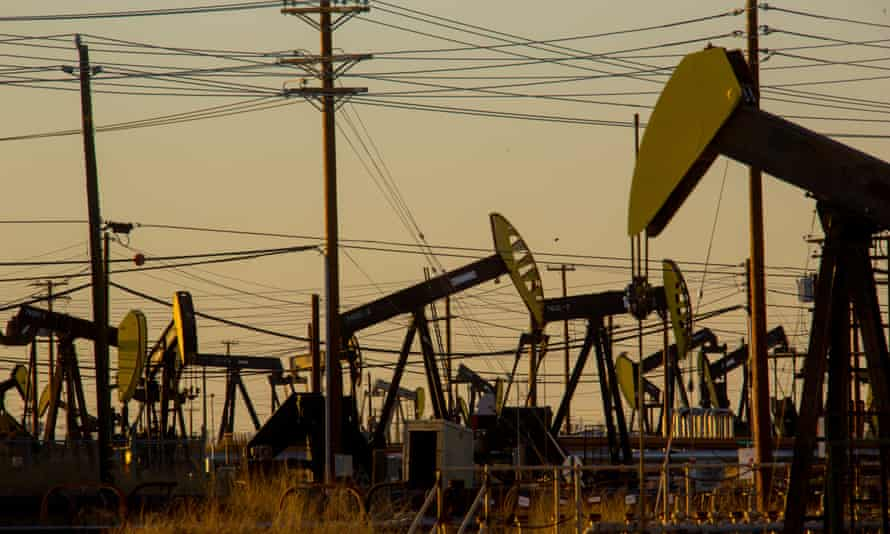 Fracking and oil drilling in California