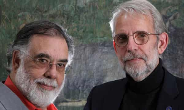 Walter Murch (right) with Francis Ford Coppola.