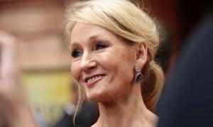 'I'm working on it' … JK Rowling.