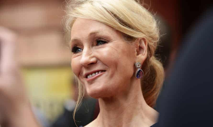 The author JK Rowling