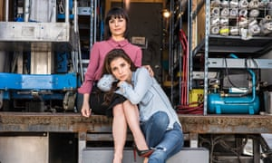 Constance Zimmer and Shiri Appleby  from Amazon's UnReal.