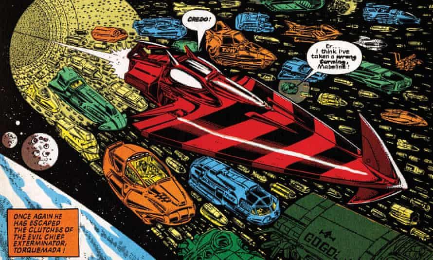 Nemesis the Warlock comic by 2000 AD