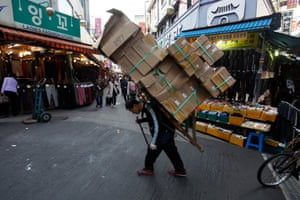 Weak demand is weighing on the South Korean economy.