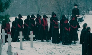 The beat goes on... the handmaids march on.