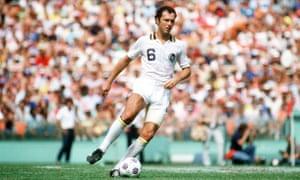 Franz Beckenbauer in his heyday.