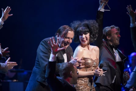 'Mesmerising' … Barry Humphries and Meow Meow revel in their Weimar Cabaret.